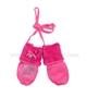 Le Chic Baby Girl Mittens Hot Pink