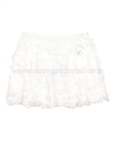Le Chic Baby Girl Skirt with Chiffon Ruffles