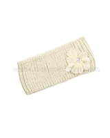 Le Chic Knit Headband Beige