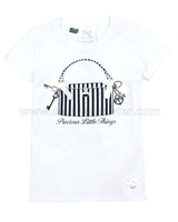 Le Chic T-shirt with a Print White