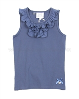 Le Chic Tank Top with Ruffle