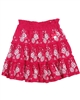 Le Chic Embroidered Skirt Raspberry