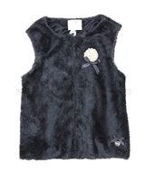Le Chic Sherpa Fleece Vest,