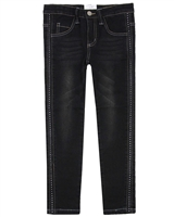 Le Chic Denim Pants with Crystals