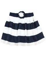 Le Chic Girls' Eyelet Skirt