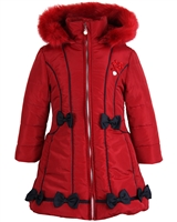 Le Chic Puffer Coat with Bows