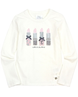 Le Chic T-shirt with Lipsticks