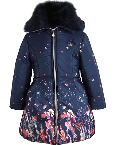 Le Chic Coat in Floral Print