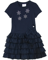 Le Chic Girls' Ruffled Dress