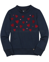 Love Made Love Sweatshirt with Hearts