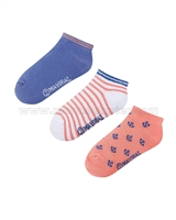 Mayoral Boy's Short Socks Coral / Violet