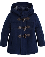 Mayoral Boy's Mouflon Wool Duffle Coat