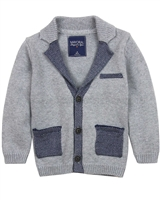 Mayoral Boy's Knit Cardigan with Collar