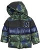 Mayoral Boy's Camo Print Coat Green