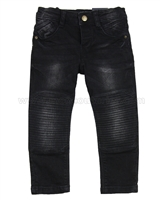 Mayoral Boy's Motorcycle Style Denim Pants