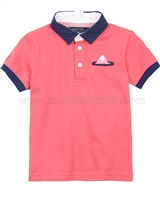 Mayoral Boy's Short Sleeve Polo