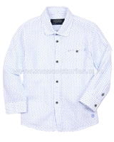 Mayoral Boy's Linen Printed Shirt