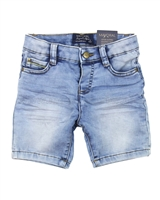 Mayoral Boy's Jogg Jean Shorts in Acid Wash
