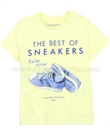 Mayoral Boy's Sneakers T-shirt Yellow