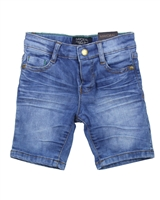 Mayoral Boy's Denim Shorts Dark Blue