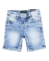 Mayoral Boy's Denim Shorts Light Blue