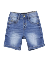 Mayoral Boy's Basic Denim Shorts
