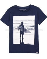 Mayoral Boy's T-shirt with Surfer Print