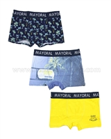Mayoral Boy's 3-piece Boxers Set