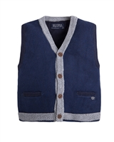 Mayoral Boy's Navy Knit Vest