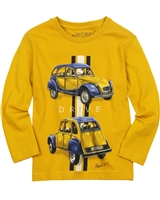 Mayoral Boy's T-shirt with Cars Print