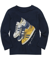 Mayoral Boy's T-shirt with Sneakers Print