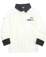 Mayoral Boy's Polo Shirt with Collar