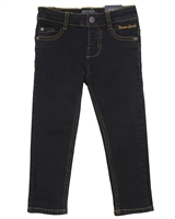 Mayoral Boy's Black Slim Fit Denim Pants
