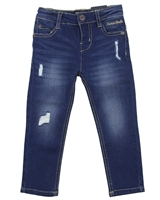 Mayoral Boy's Blue Slim Fit Denim Pants