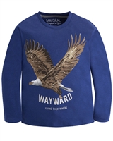Mayoral Boy's T-shirt with Eagle Print