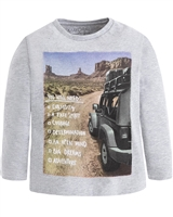 Mayoral Boy's T-shirt with Travel Print