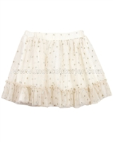 Mayoral Girl's Dotted Tulle Skirt
