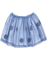 Mayoral Girl's Tulle Skirt with Flowers