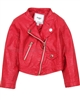 Mayoral Girl's Pleather Jacket Red