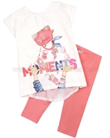 Mayoral Girl's Tunic and Leggings Set