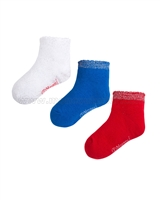 Mayoral Girl's Short Socks Set Red/Blu