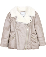 Mayoral Girl's Faux Shearling Coat