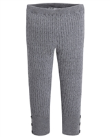 Mayoral Girl's Gray Knit Leggings
