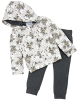 Mayoral Girl's Floral Print Joggings Set