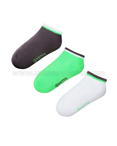 Mayoral Junior Boy's Short Sock Set Gray/Green