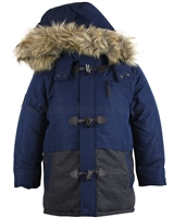 Mayoral Junior Boy's Parka Coat with Toggles
