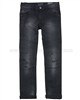 Mayoral Junior Boy's Biker Style Denim Pants Black