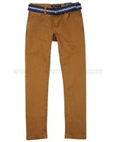 Mayoral Junior Boy's Twill Pants with Belt