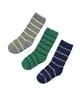 Mayoral Junior Boy's Striped Socks Green