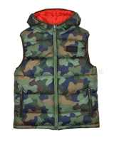 Mayoral Junior Boy's Reversible Puffer Vest